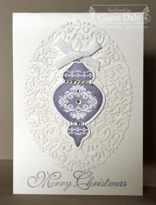 stampin up ornament keepsakes