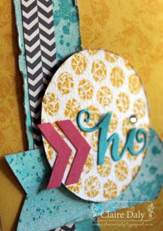 Bubble wrap card close up