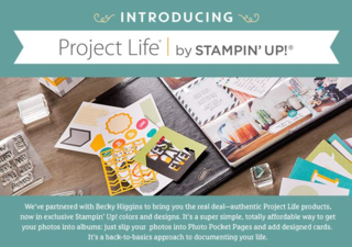 Project Life by Stampin' Up! available in Australia from today! Claire daly Stampin Up Demo Melbourne Australia at www.clairedaly.typepad.com