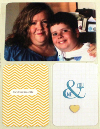 Project Life by Stampin Up. Page by Claire Daly, Stampin' up! Demonstrator Melbourne Australia at www.clairedaly.typepad.com