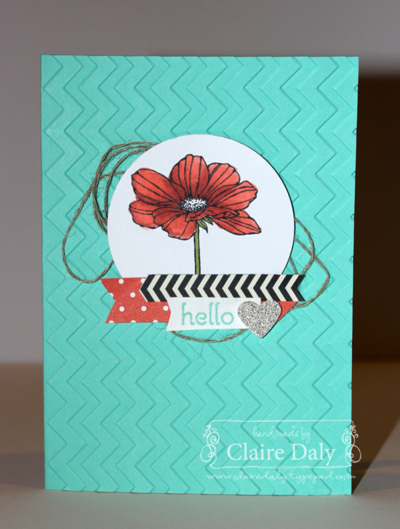 Stampin' Up! Peaceful Petals and Blendabilities