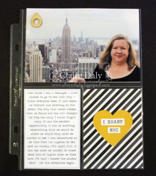 Project Life Stampin Up Australia