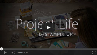 Project Life video stampin up
