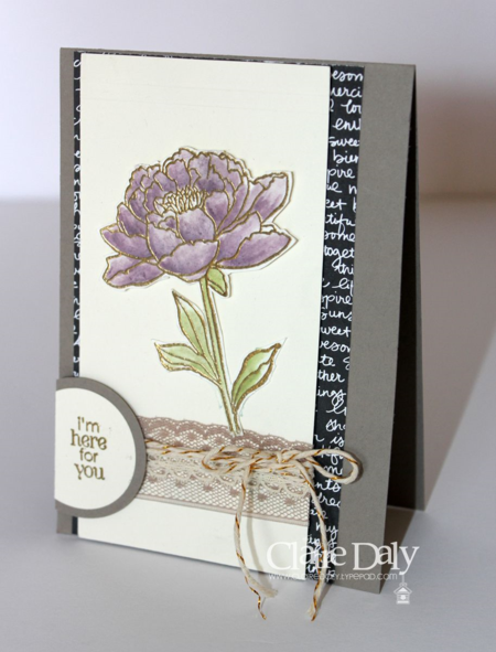 Stampin' Up! You've Got This by Claire Daly Melburne Australia for SB106