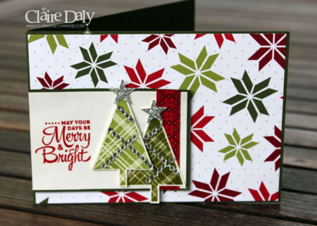 Stampin Up Lots of Joy Christmas card by Claire Daly Melbourne Australia for SB111.