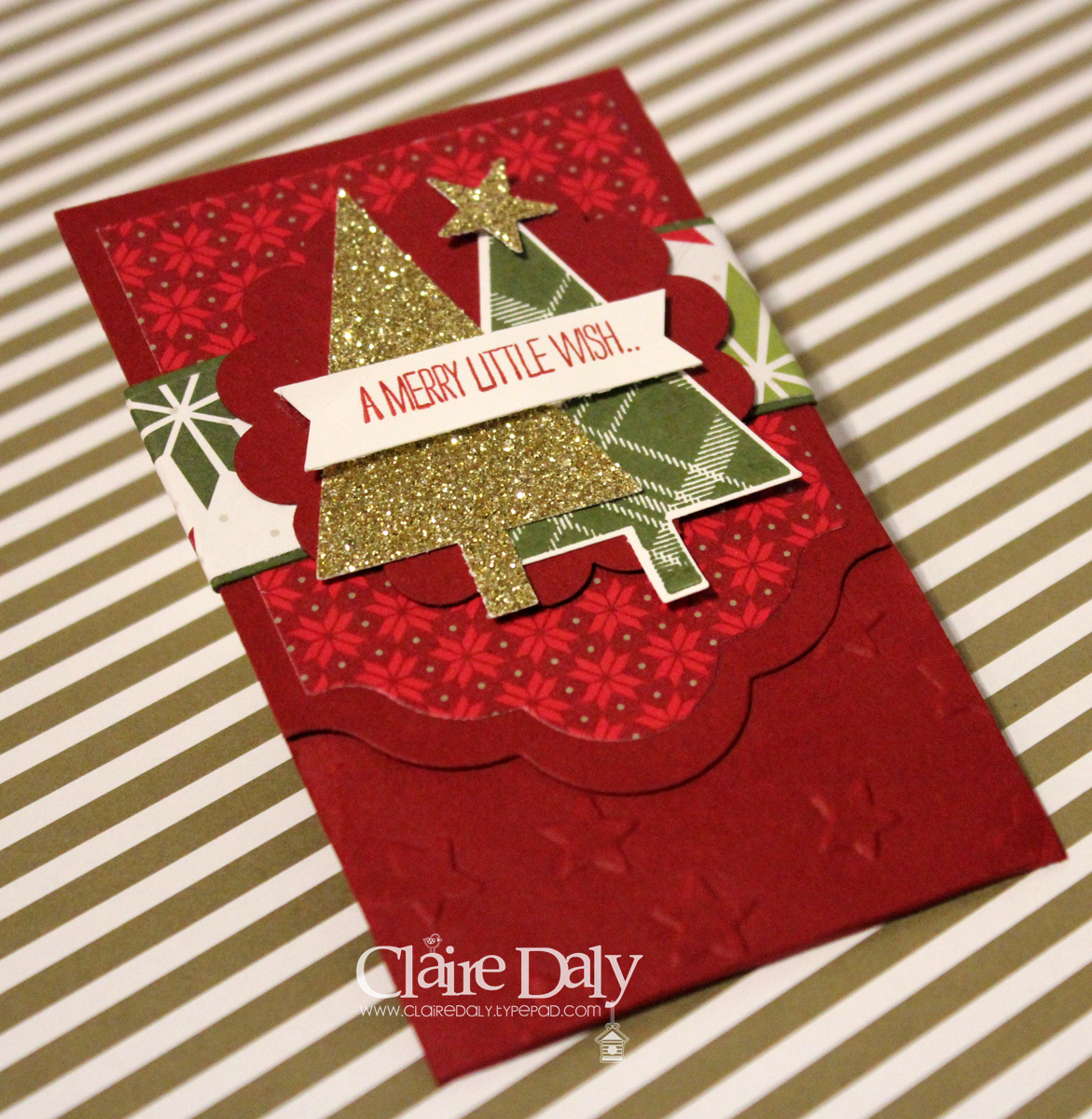 Christmas Cards And Projects Stampin Up Australia Claire Daly