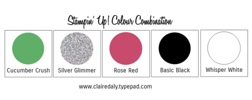 Stampin Up Colour Combinations #color #colour #stampinup