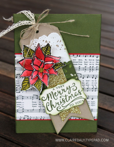 Stampin' Up! Reason for the Season Christmas Card 2015 by Claire Daly Australia