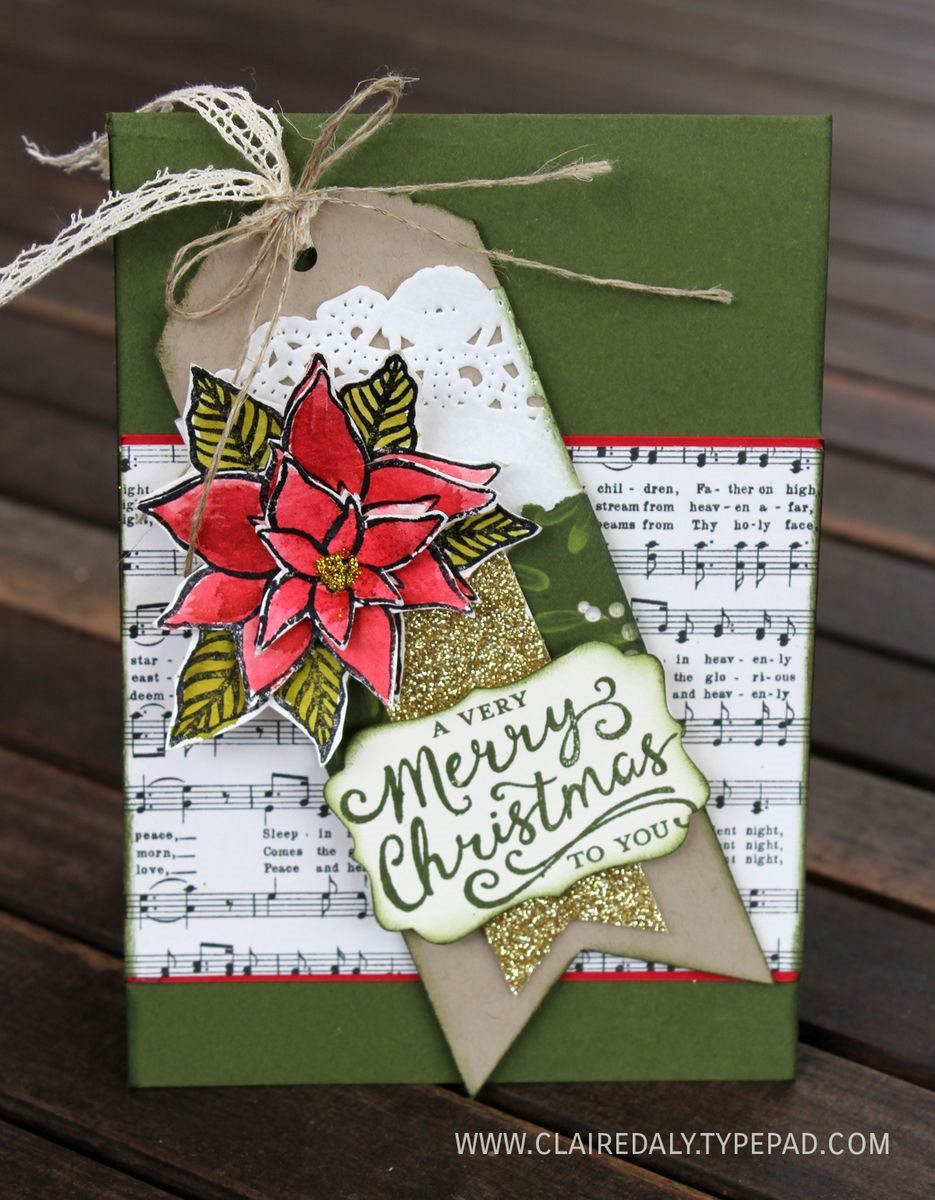 Stampin up australia claire daly independent demonstrator stampin up reason for the season christmas card 2015 by claire daly australia kristyandbryce Gallery