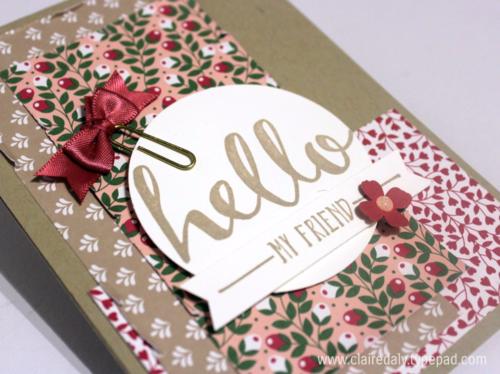 Love Blosoms Embellishment Kit