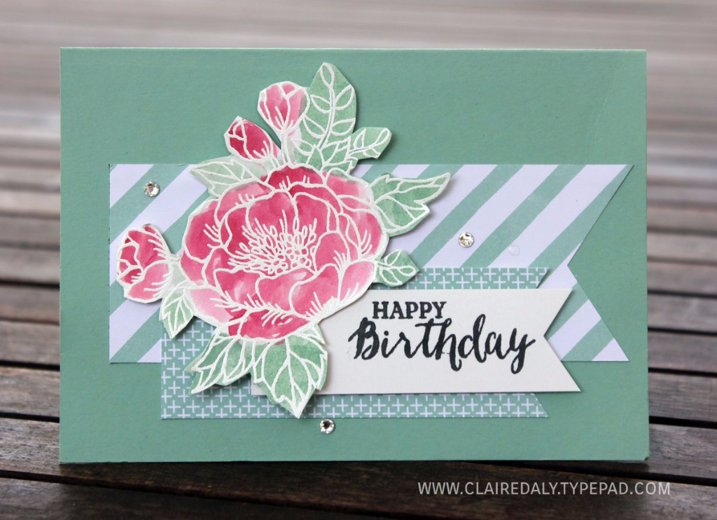 Birthday Cards Stampin Up Australia Claire Daly Independent