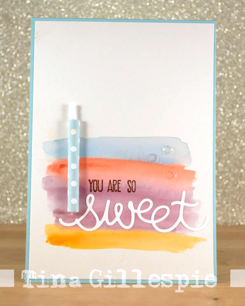 Stampin Up birthday card by Tina Gillespie South Australia
