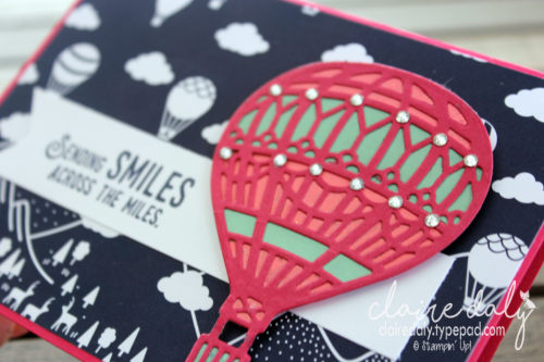 Stampin Up Occasions 2017 Catalogue sneak peek Lift Me Up stamp set and Up and Away Thinlits. Join in December and get these products a month early. Claire Daly, Stampin' Up! Demonstrator Melbourne Australia.