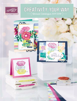 NEW Stampin Up 2017/18 Annual Catalogue. Get yours today (Australia)