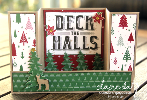 Stampin Up Carols of Christmas 2017 Holiday Catalogue card by Claire Daly Stampin Up Demonstrator Mebourne Australia.