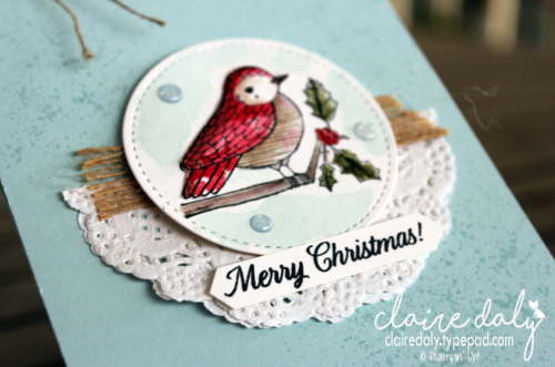 Stampin Up Cheery Chirps Christmas 2017 cards by Claire Daly Stampin' Up! Demonstrator Melbourne Australia