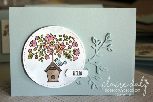 Stampin Up Flying Home stamp set with Stampin Blends Alcohol Markers #occasions2018 #stampinupcards2018 #stampinup #stampinupaustralia #clairedaly
