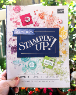 2018 Stampin Up Annual Catalogue. In Australia? Request your copy now. #stampinupcatalogue #2018 #australia #clairedaly