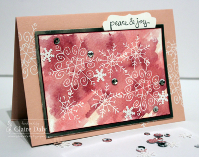 Stampin' Up! Endless Wishes from the New Holiday Catalogue for SB70 by Claire Daly Melbourne Australia