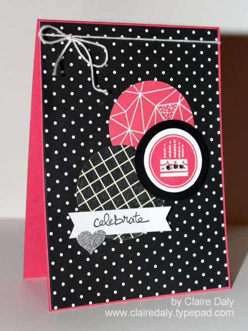 Stampin' Up! Amazing Birthday card by Claire Daly Stampin' Up! Melbourne Australia