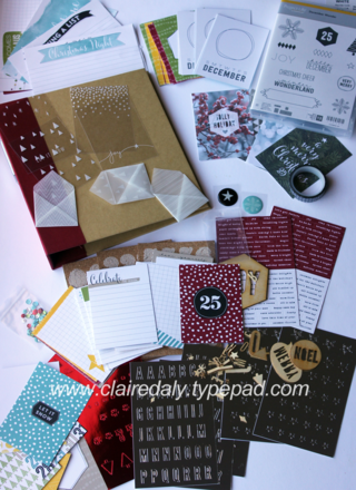 Stampin' Up! Project Life Christmas range 2014 available from Claire Daly Melbourne Australia at www.clairedaly.typepad.com