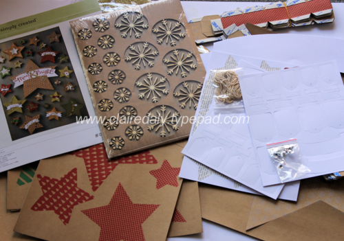 Stampin' Up! Many Merry Stars Kit DIY Christmas Tree