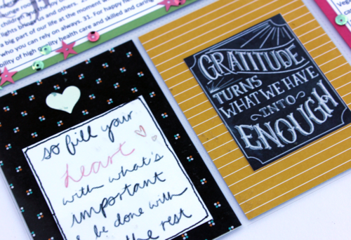 Stampin Up Project Life Page by Claire Daly Stampin Up Melbourne Australia
