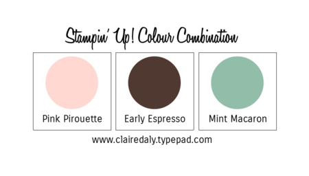 Stampin Up Colour Combinations 2015 Mint Macaron
