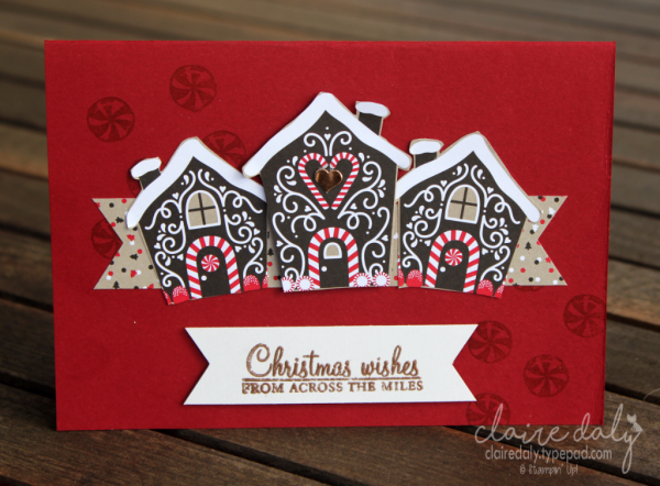 Stampin up australia claire daly independent demonstrator stampin up australia claire daly independent demonstrator melbourne candy cane lane dsp gingerbread house christmas cards m4hsunfo