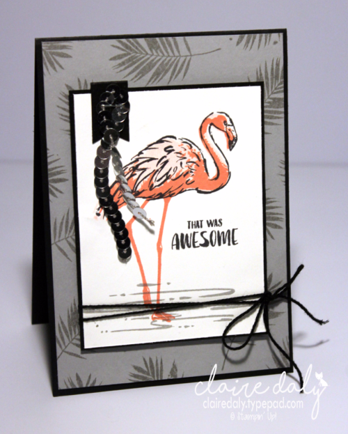 Stampin Up 2017 2018 Annual Catalogue sneak peek Fabulous Flamingo. Claire Daly, Stampin Up Demonstrator Melbourne Australia