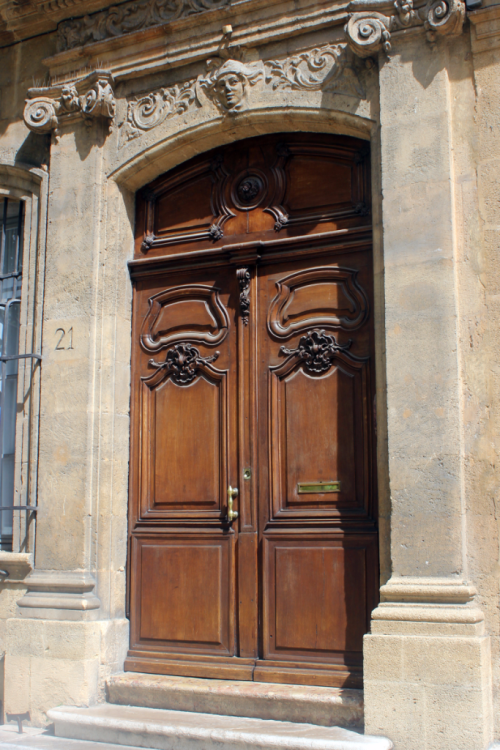 Aix En Provence ornate door France