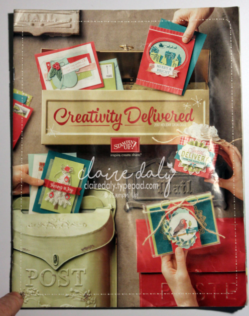 Stampin' Up! 2017 Holiday Catalogue. In Australia? Ask me for a copy via blog link.