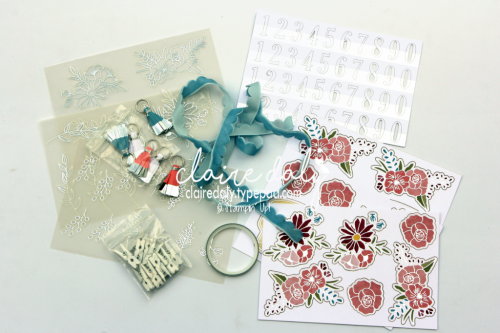 Stampin Up Sweet Soiree embellieshment kit. #stampinup #occasions2018