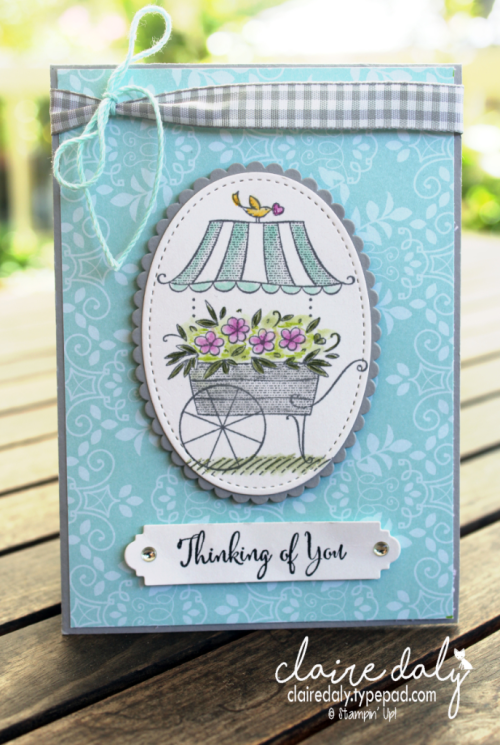 Stampin Up Friendships Sweetest Thoughts crd by Claire Daly Stampin Up Demonstrator Melbourne Australia #stampinup #clairedaly #occasions2018 #australia #stampinupdemo #stampinupaustralia