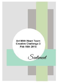Creative Challenge 16 Feb 2015