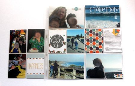 Happiness Is Project Life by Stampin Up Claire Daly MKPLSU Design Team