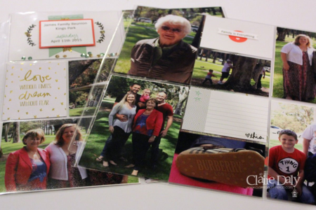 Project Life Stampin Up Moments Like This by Claire Daly Melbourne Australia
