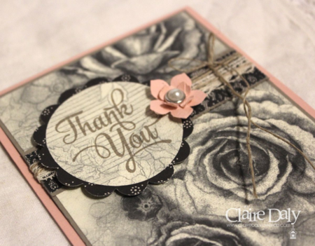 Stampin Up Timeless Elegance DSP and One Big Meaning Stamp Set for SB108 by Claire Daly, Australia at www.clairedaly.typepad.com