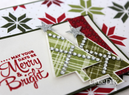 Stampin' Up! Lots of Joy Christmas stamp set by Claire Daly Mebourne Australia for SB 111