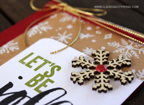 Project Life Seasonal Snapshot Christmas Card 2015 Claire Daly Australia