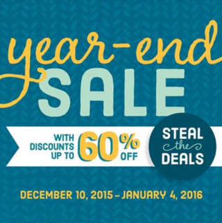 Year end sale 2