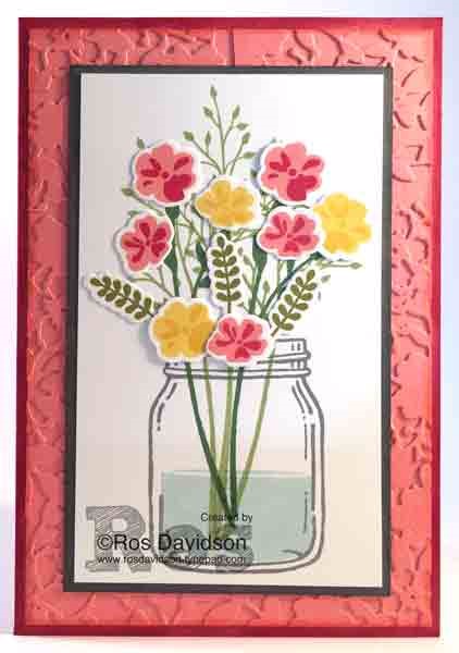 Stampin Up Jar of Love Stamp Set by Ros Davidson SU Demo Skye, Melbourne Australia