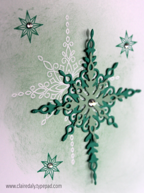 2016 Stampin Up Holiday Catalogue sneak peek. Star of Light stamp set / bundle Christmas card by Claire Daly, Stampin Up Demonstrator Melbourne Australia.
