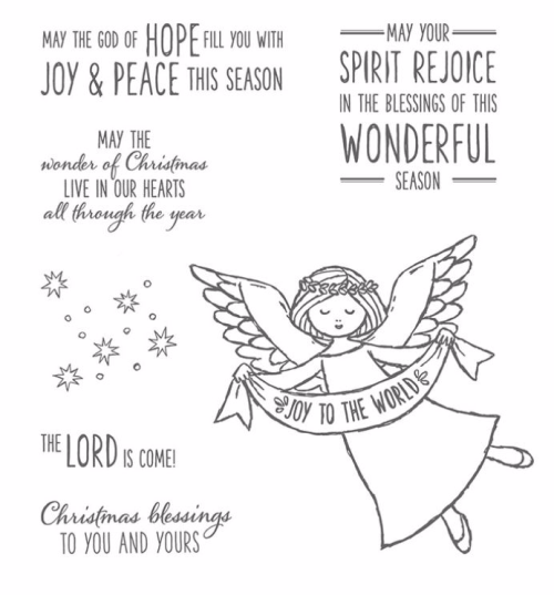 Stampin' Up! Wonder of Christmas available in my online store at www,clairedaly.typepad.com