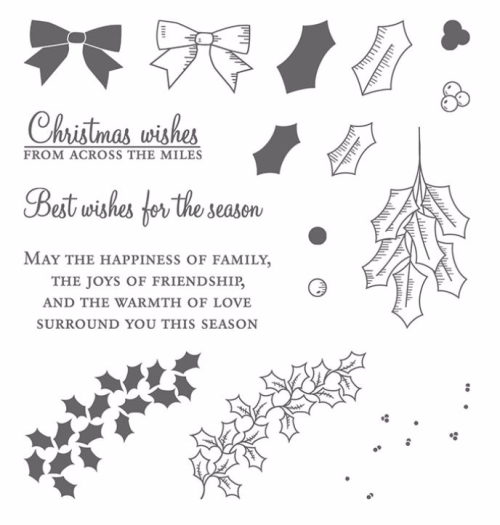 Holly Berry Happiness available from my online Stampin Up store in Australia