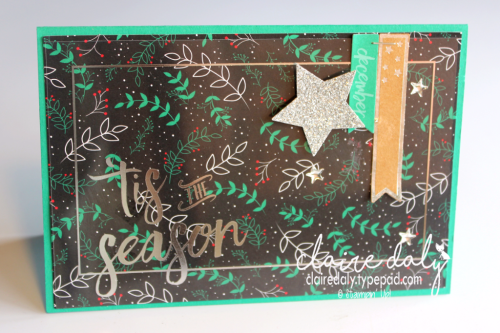 Stampin' Up! Project Life Hello December 2016 Christmas Cards by Claire Daly Stampin' Up! Demonstrator Melbourne Australia