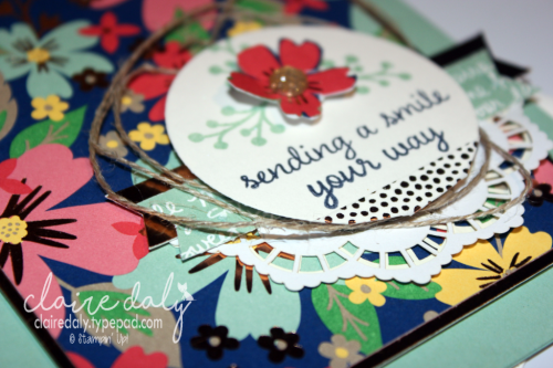 Stampin Up retiring 2017 Affectionately Yours paper and washi tape, love and affection stamp set, mint macaron, copper, bookmark, card and envelope. By Claire Daly Stampin' Up! Demonstrator Melbourne Victoria.