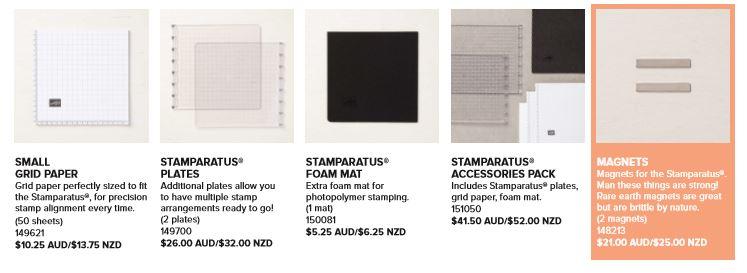 Stamparatus Accessories 2