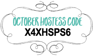 Hostess code October 2018