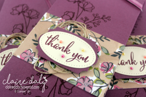 Stampin Up Chocolate Block Gift Holders. Share What You Love DSP, Love What You Do Stamp Set. , Claire Daly, Stampin Up Demonstrator Melbourne Australia.